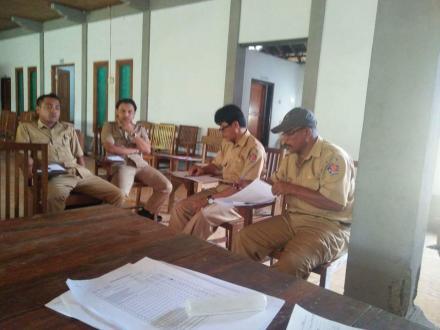 Rapat Koordinasi Perangkat Desa Gerokgak