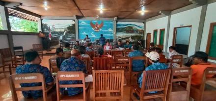rapat Koordinasi susunan acara Fesbuker kecamatan Gerokgak Tahun 2019