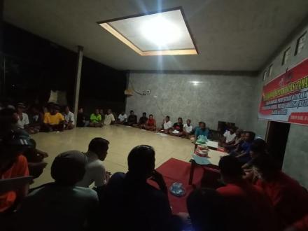 Musbandin (Musyawarah Banjar Dinas) Penggalian gagasan di Banjar Dinas Taman Sari