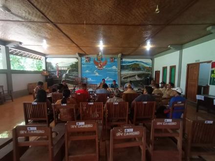 Desa Gerokgak Membentuk Posko terpadu Penanggulangan Covid-19