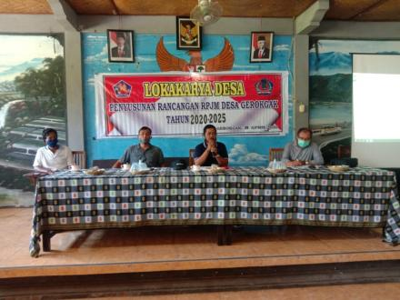 Lokakarya Desa Gerokgak dalam Rangka Menyusun Rencana Pembangunan Jangka Menengah Desa Gerokgak Tahu