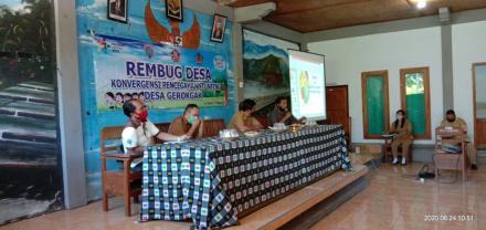 Penggalian Gagasan dalam rangka Pencegahan Stunting di Desa Gerokgak