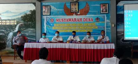 Rabu, 30 Juni 2021 bertempat di Ruang Aula Kantor Perbekel Gerokgak dilaksanakan Musdes (Musyawarah
